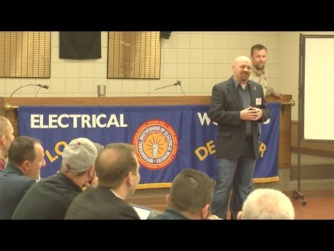 Local Community Members Learn about Trades Unions