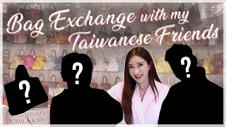 BAG EXCHANGE WITH MY TAIWANESE FRIENDS | JAMIE CHUA