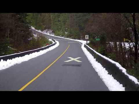 Port Moody BC Canada - Driving to Belcarra Regional Park - Stunning Forest/Nature - Vancouver Suburb