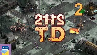 2112TD: Tower Defense Survival - iOS / Android Gameplay Walkthrough Part 2 (by Refinery Productions)