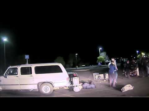 Dash Cam Of The Wal Mart Fight In The News
