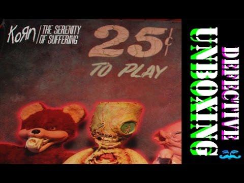 KORN - Serenity of Suffering - Defective Picture Disc Album? Unboxing vinyl record ... Blooper Real