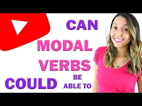 Modal Verbs: |Can |Could & Be Able To - English Grammar
