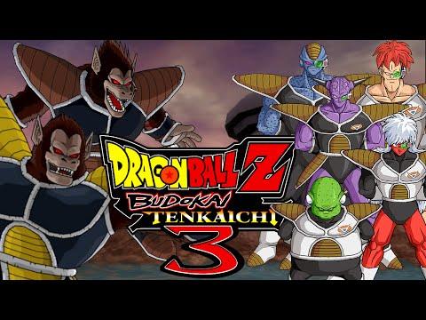 Dragon Ball Z Budokai Tenkaichi 3: Great Ape Nappa & Raditz VS The Ginyu Force