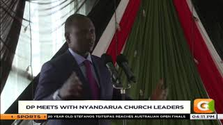 Ruto meets with Clergy