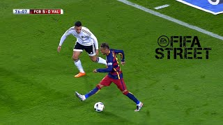 When Neymar Plays FIFA Street In A Real Game