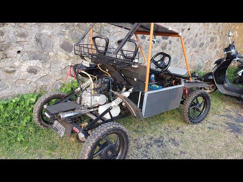 Extreme Modif Supra 100cc jadi Mobil Part 2