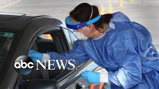 Coronavirus cases surge in center of US
