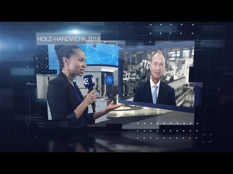 HOMAG Newsflash edition 1: Our new news format, live from HOLZ-HANDWERK