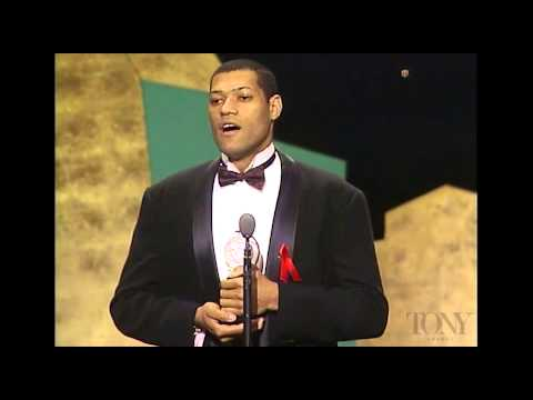 1992 Tony Awards - Larry Fishburne - Best Featured Actor In A Play
