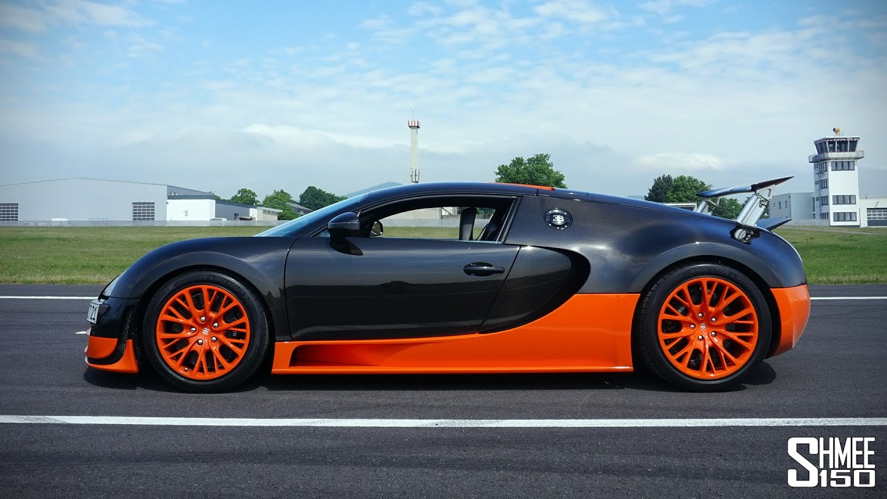 Top Speed Key for the Bugatti Veyron Super Sport - YouTube