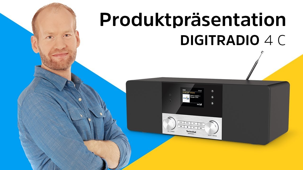 Video: DIGITRADIO 4 C | DAB+/UKW-Stereoradio mit Bluetooth-Audiostreaming. | TechniSat