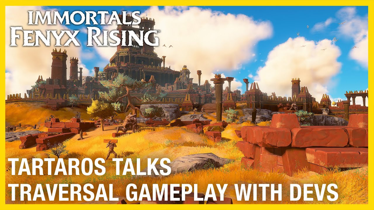 Immortals Fenyx Rising: Tartaros Talks – Traversal with Dev Gameplay Deep Dive | Ubisoft