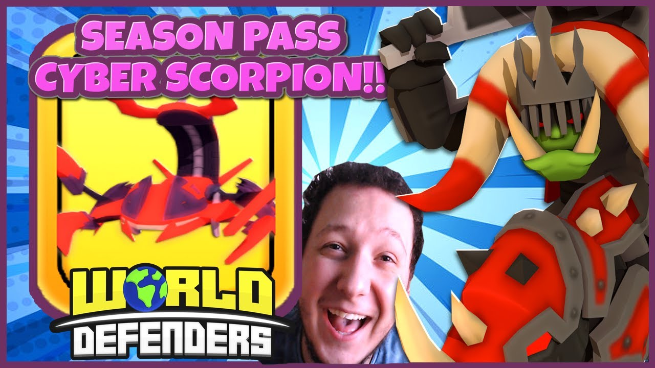 IS CYBER SCORPION WORTH THE GRIND!!😱IT'S INSANE!! WORLD DEFENDERS!