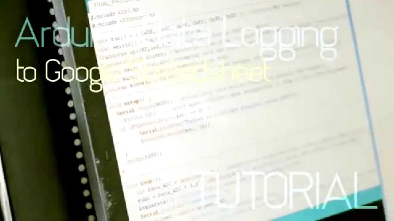 Arduino data logging to google docs spreadsheet