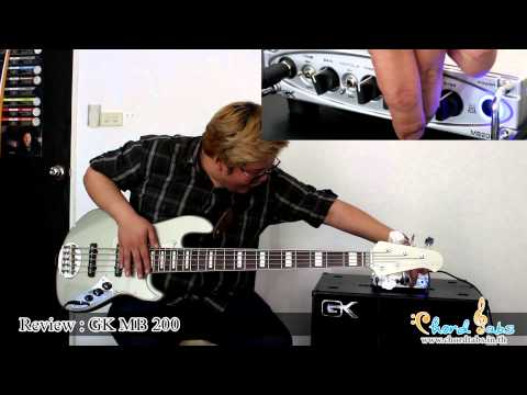 Review Gallien-Krueger MB200 Bass Amp Head