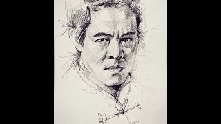 Art Drawings Expendables, Jet Lee
