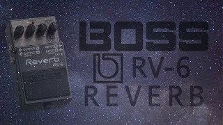 Boss RV-6 Reverb Demo (Including Expression Function.)