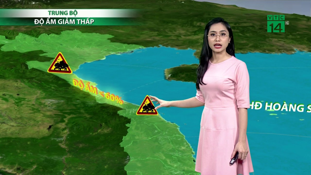 Thời tiết 6h ngày 17/04/2019: Nắng nóng gay gắt ở Bắc và Trung Trung bộ | VTC14