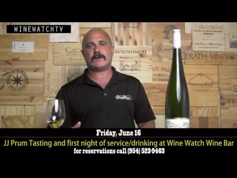 First Night in the New Wine Bar Featuring Wines of JJ Prum - click image for video