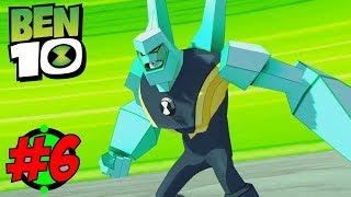 EVIL ROBOT IS AFTER BEN   Ben 10 The Game PART 6