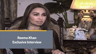 Reema Khan Exclusive Interview   SAMAA TV   28 January , 2019