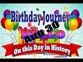 Birthday Journey August 30 New