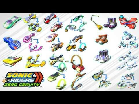 "Sonic Riders: Zero Gravity - ""Un-Gravitify (Instrumental/ Wii Online Mode Mix)"" (Extended) [1080p60]"