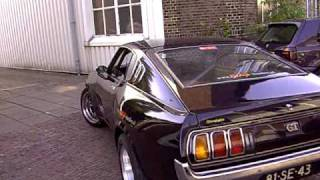 420 bhp celica V8 BURNOUT  !!!!!!!!
