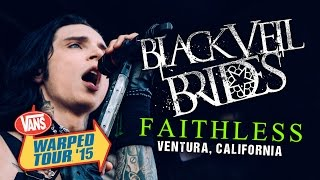 "Black Veil Brides - ""Faithless"" LIVE! Vans Warped Tour 2015"