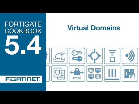 FortiGate Cookbook - Virtual Domains (5.4)