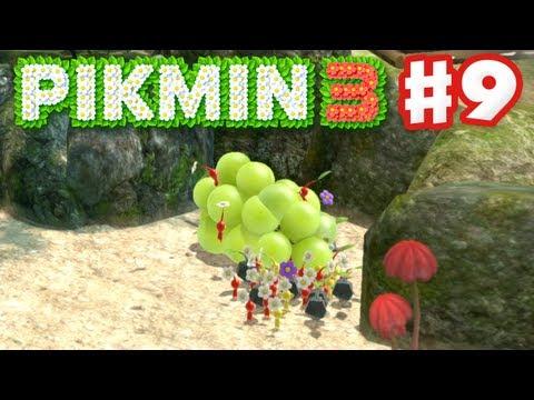 Pikmin 3 - Day 9 - Tropical Wilds Fruit (Nintendo Wii U Gameplay Walkthrough)