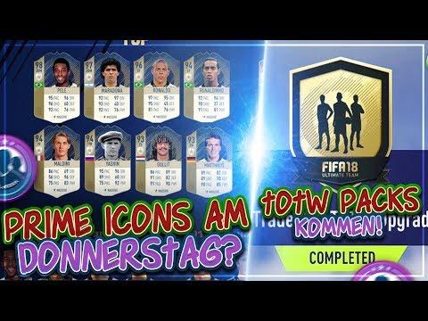 FIFA 18: TOTW Packs kommen 😳 Prime ICONS diesen Donnerstag?  🔥 Community Talk
