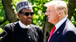 Nigerian President Laughs His Ass Off At Trump Struggling To Answer Question