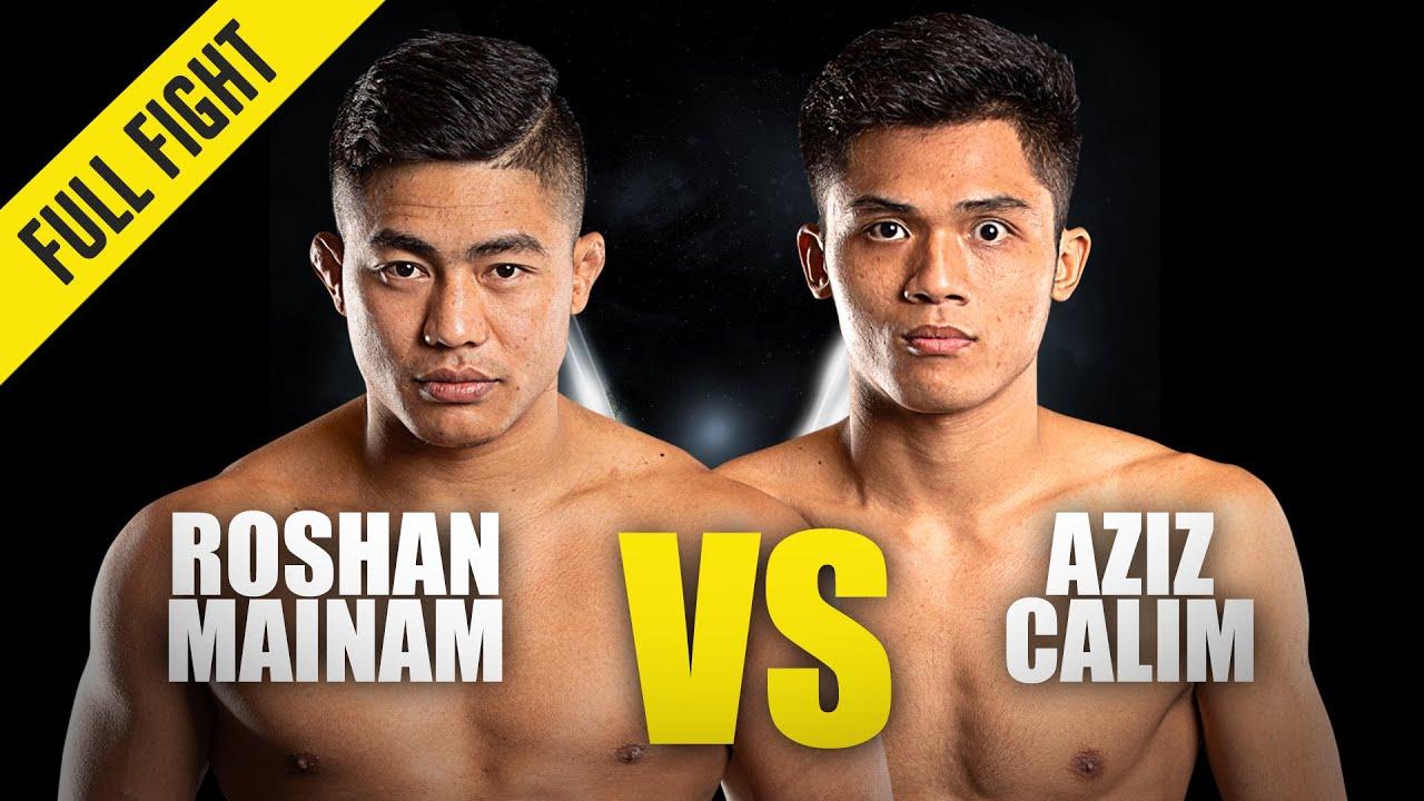 Roshan Mainam vs. Aziz Calim | ONE Championship Full Fight