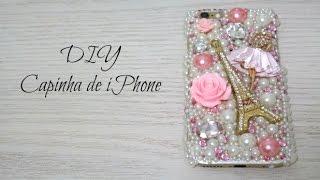 DIY Capinha de iPhone – Customização de Capinha para iPhone