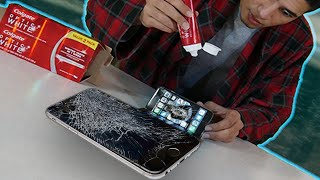 Does Toothpaste REALLY REMOVE Cracks On A Phone? Does Toothpaste Fix Cracked Screens?