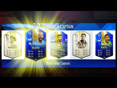 UNREAL DRAFT! BEST POSSIBLE ARGENTINA FUT DRAFT CHALLENGE! - FIFA 19 Ultimate Team