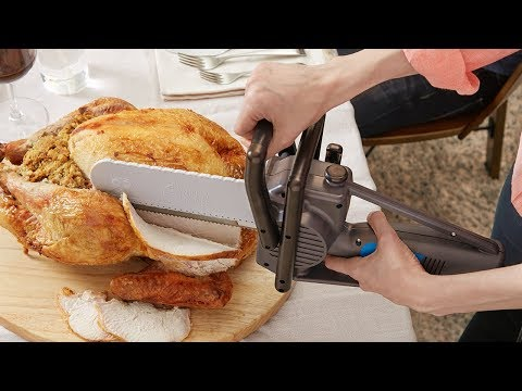 Mike Jones - Carve Your Thanksgiving Turkey With A Chainsaw Knife!