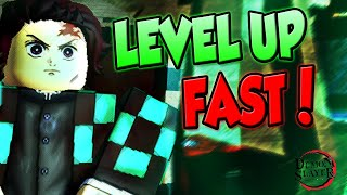 HOW TO LEVEL UP FAST IN DEMON SLAYER RPG 2! | ROBLOX | NEW DEMON SLAYER GAME!