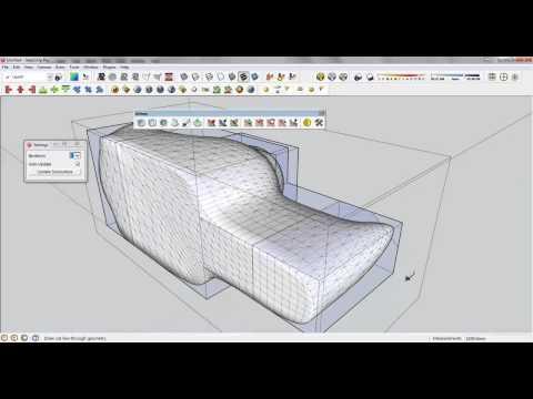 Sketchup plugin #7 - Artisan 1.2.4 Công cụ tuyệt vời của SU [phụ đề]