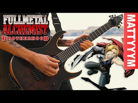 "Fullmetal Alchemist: Brotherhood Opening Full - ""Again"" (Beautiful Rock Cover)"
