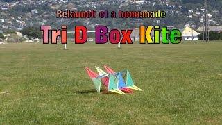 Tri D Box Kite
