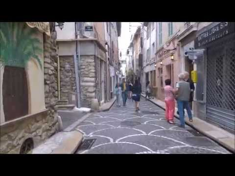 France Travel Vlog (May 2015) - Antibes, France