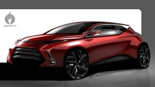 SKETCH-IT! #17 • Automotive rendering