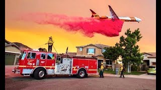 SURVIVING CALIFORNIA'S SCARIEST WILD FIRE!!!(THE HOLY FIRE)