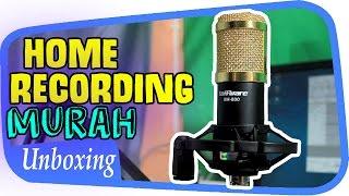 Unboxing + Review BM800 Mic Untuk Home Recording Murah ~ Indonesia