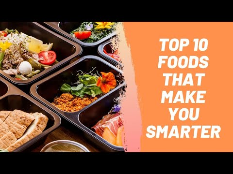 Top 10 Foods That Make You Smarter