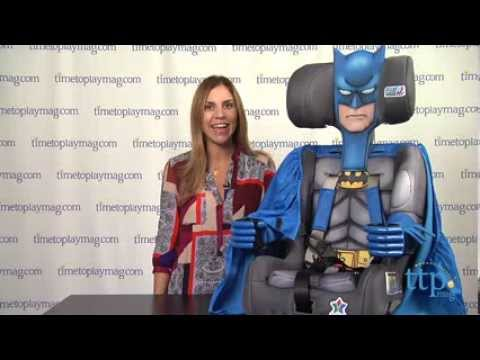 Batman Deluxe Combination Toddler Booster Car Seat From Kids Embrace