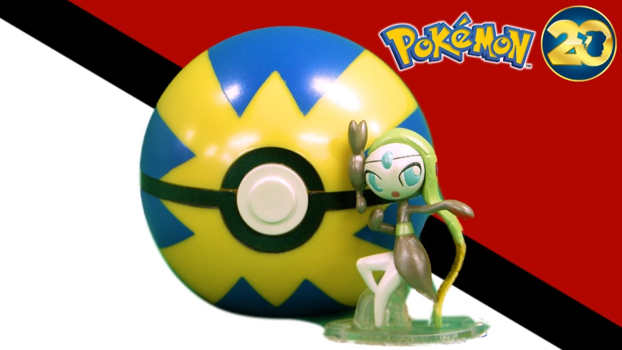 Pokemon Meloetta Aria Form from TOMY - YouTube